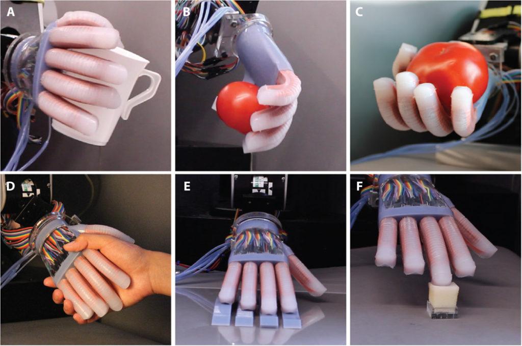 Il robot diventa sensibile con la stampa 3D