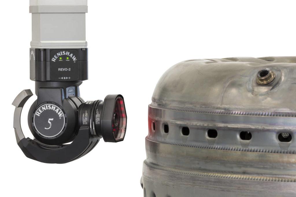 Renishaw RVP VM10combustor controllo