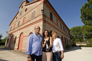 Silvano Buccolini and Giuliana Papa with their daughter Martina Buccolini.