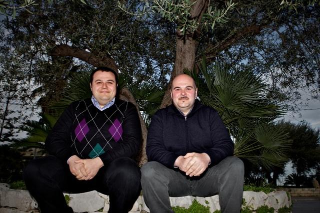 Roberto and Daniele Aprile
