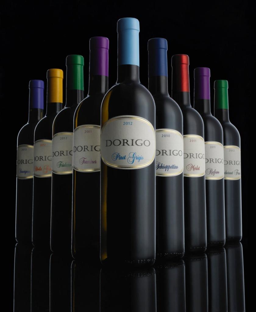 Gruppo bottiglie
