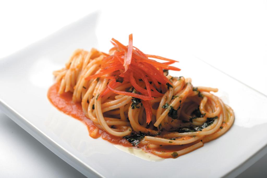 Spaghetti alla puntenge romantica
