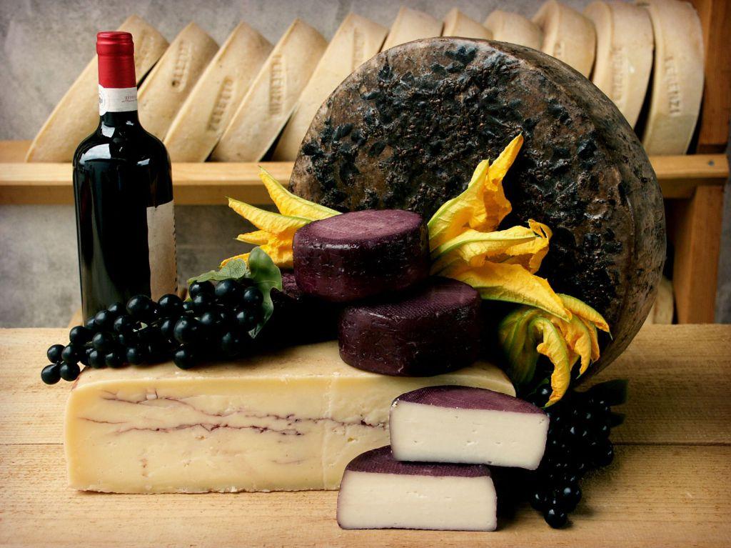 Formajo Ciock al vino rosso