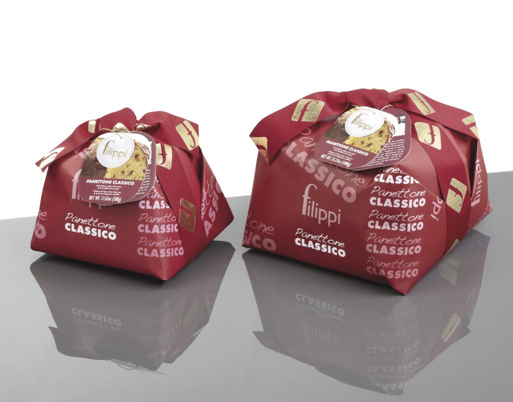 Panettone classico incarto Damerino 1000 - 500 gr