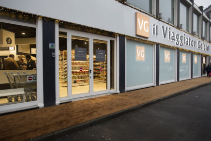 "Unes opens ""Viaggiator Goloso"",  first store devoted to its private labels"