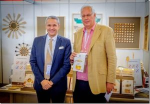 Antonio Montanini, president of Taste Italy (on the left)