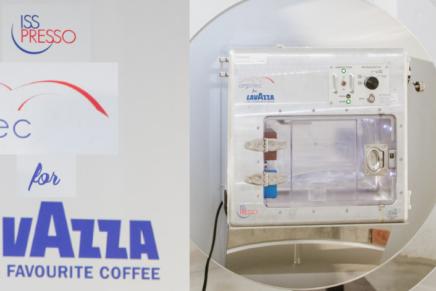 Italian Lavazza Espresso comes back into space