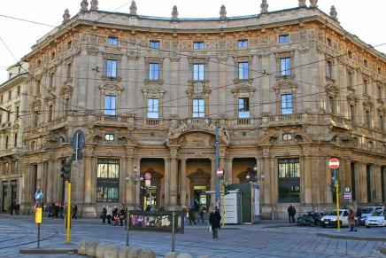 Milano Cordusio, l'evoluzione commerciale