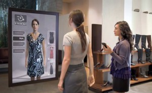 specchi interattivi digitalizzazione store digitale