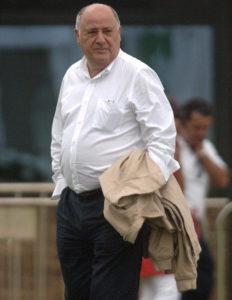 Amancio Ortega, fondatore di Inditex (Zara)