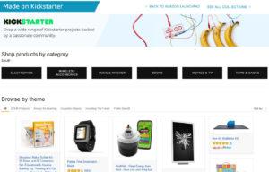 Amazon crowdfunded Kickstarter