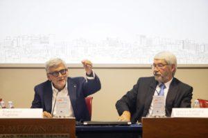 Francesco Pugliese, amministratore delegato di Conad, e Giovan Battista Mazzucchelli, amministratore delegato di Cattolica spiegano il nuovo Fondo immobiliare Mercury