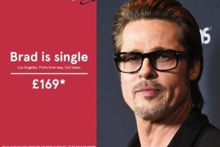 Newsjacking con Brad Pitt? Fa parlare del brand, ma è rischioso