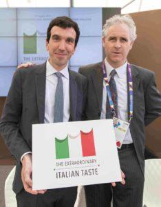 Ministro_Martina e  _Presidente_Consorzio_Asiago-DOP_Fiorenzo_Rigoni