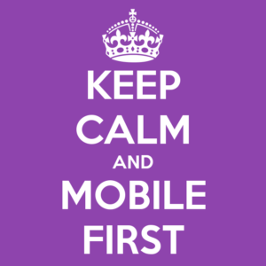 keep calm mobile