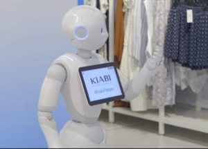 kiabi robot pepper