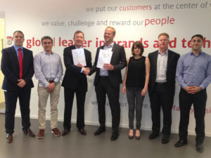 Henkel & CHEP Contract Renewal - Team Photo - Torsten Roewekamp  from Hen...