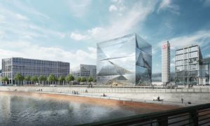 Berlino, Europacity-Cube: Waterfront