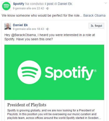 spotify obama