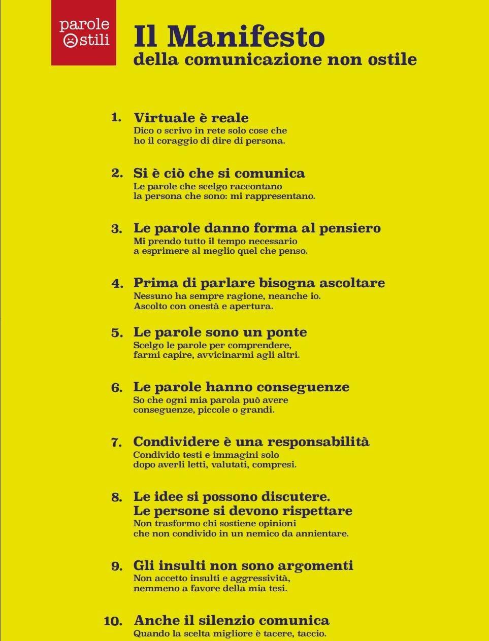manifesto della comunicazione 1