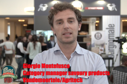 Video intervista a Giorgio Montefusco, category manager savoury products Vandemoortele/Agritech