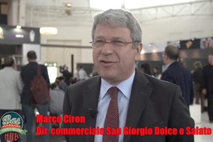 Video intervista a Marco Ciron, direttore commerciale San Giorgio Dolce e Salato