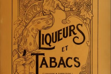 Liqueurs et Tabacs, Canada 1902