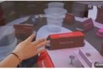 Sephora in Cina installa chiosco per navigare in 3D