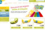Chiquita apre il suo e-shop