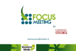 Focus Meeting: Social Media Marketing – 1