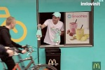 McDonald's lancia il take-away per ciclisti e passa al fashion