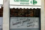 Scaramagli diventa Carrefour a Bologna, eccetto i vini