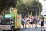 Del Monte: il summer tour riprende per le strade di Milano