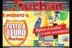 Auchan lancia la comunicazione online Tutto a 1 euro