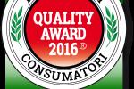 Quality Award, la parola passa ai consumatori