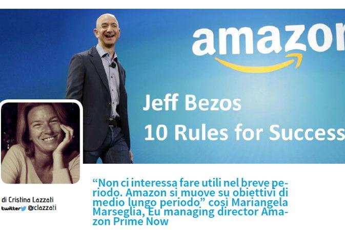 Editoriale – Amazon: soddisfare quel bisogno costante per i prossimi 10 anni, a prescindere dei mezzi