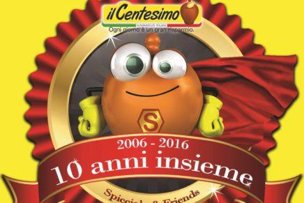 L'insegna Il Centesimo festeggia 10 anni di attività