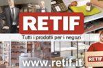 Retif approda in Italia con l'eCommerce
