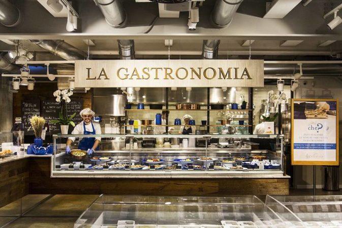 La gastronomia resta un'isola di creatività