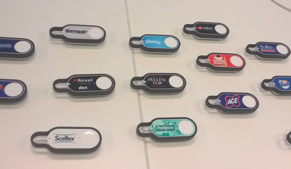 IoT, Amazon Dash sbarca in Italia da metà novembre