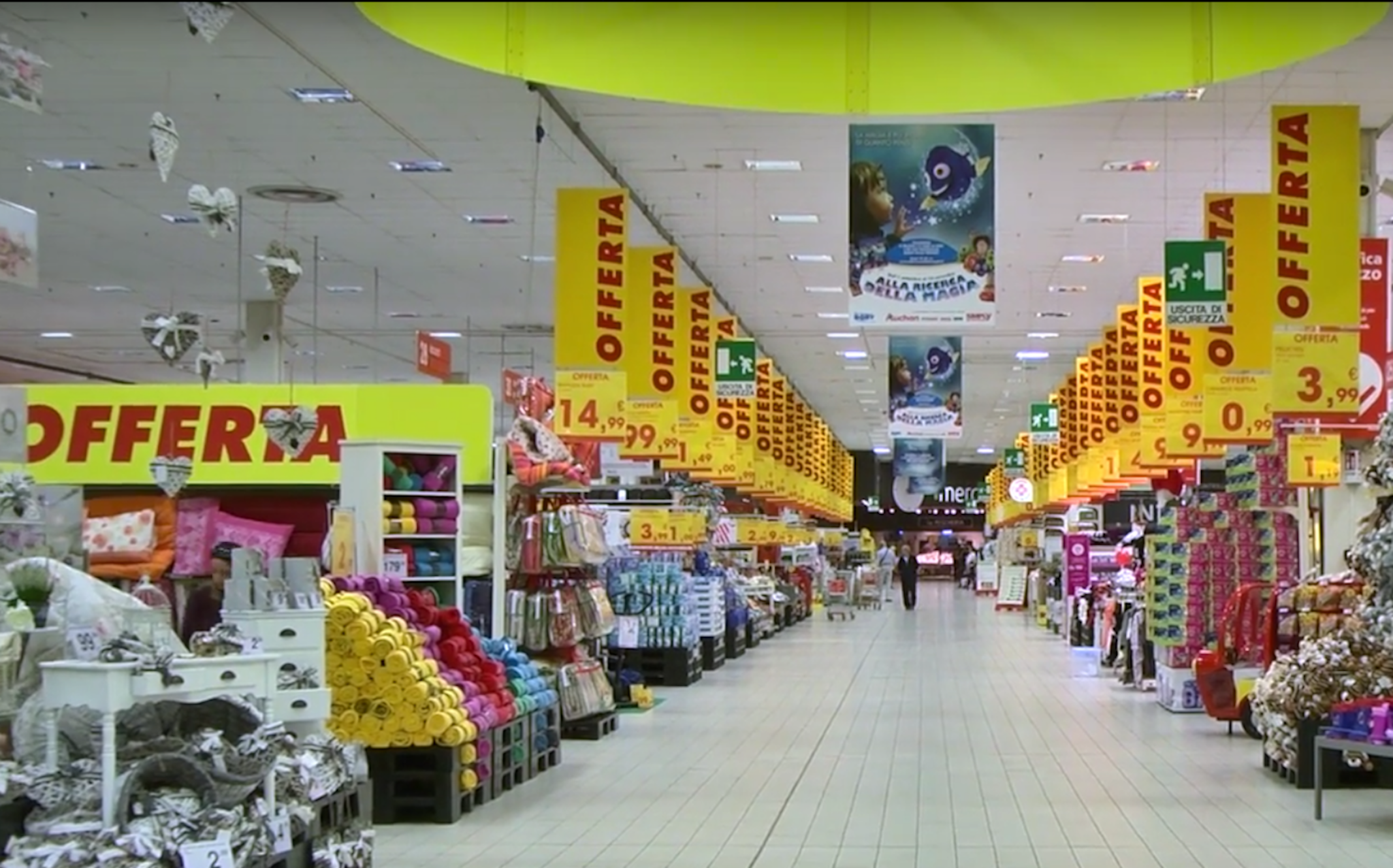 Video tour l 39 ipermercato auchan al c c porte dell 39 adige - Auchan porta di roma offerte ...