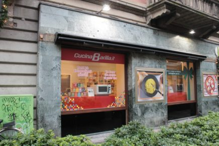 CucinaBarilla apre due temporary store a Milano
