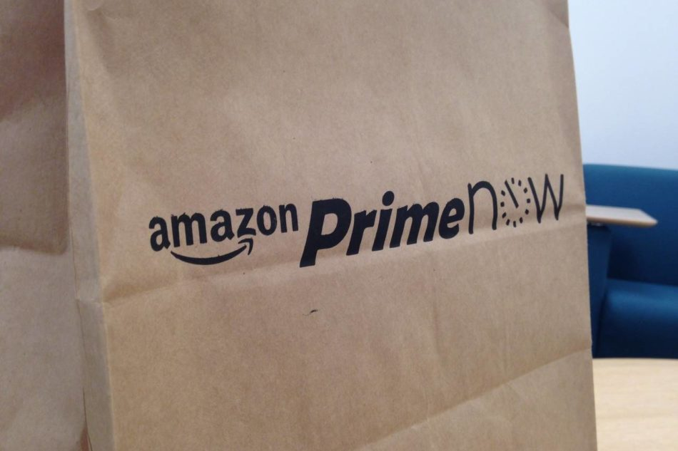 Amazon Prime Now, pesce fresco a casa