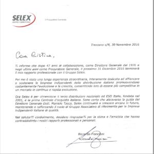 lettera francioni