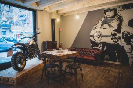 Scrambler Ducati Food Factory mette insieme cibo e motori