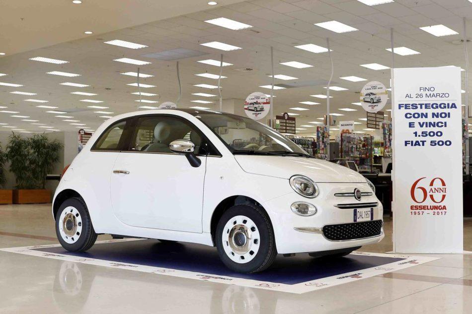 Ecco il nuovo concorso Esselunga: in palio 1.500 Fiat 500. Come partecipare