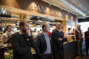 Francesco Farinetti - Antonio De Paolo - Andrea Guerra trieste