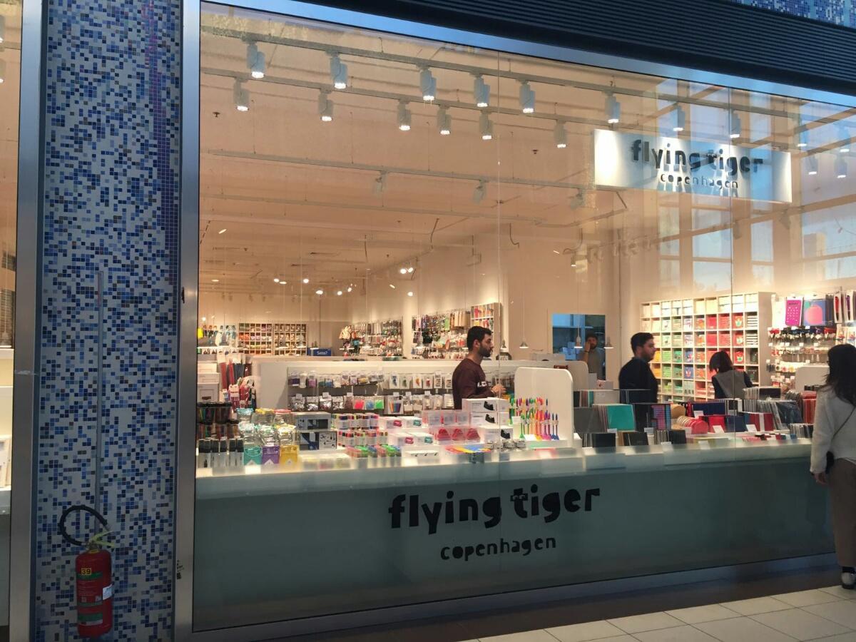 Flying tiger copenhagen si sviluppa in sud italia for Tiger milano prodotti