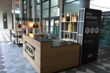 Ikea espone al Sigep prodotti di arredo per attività commerciali