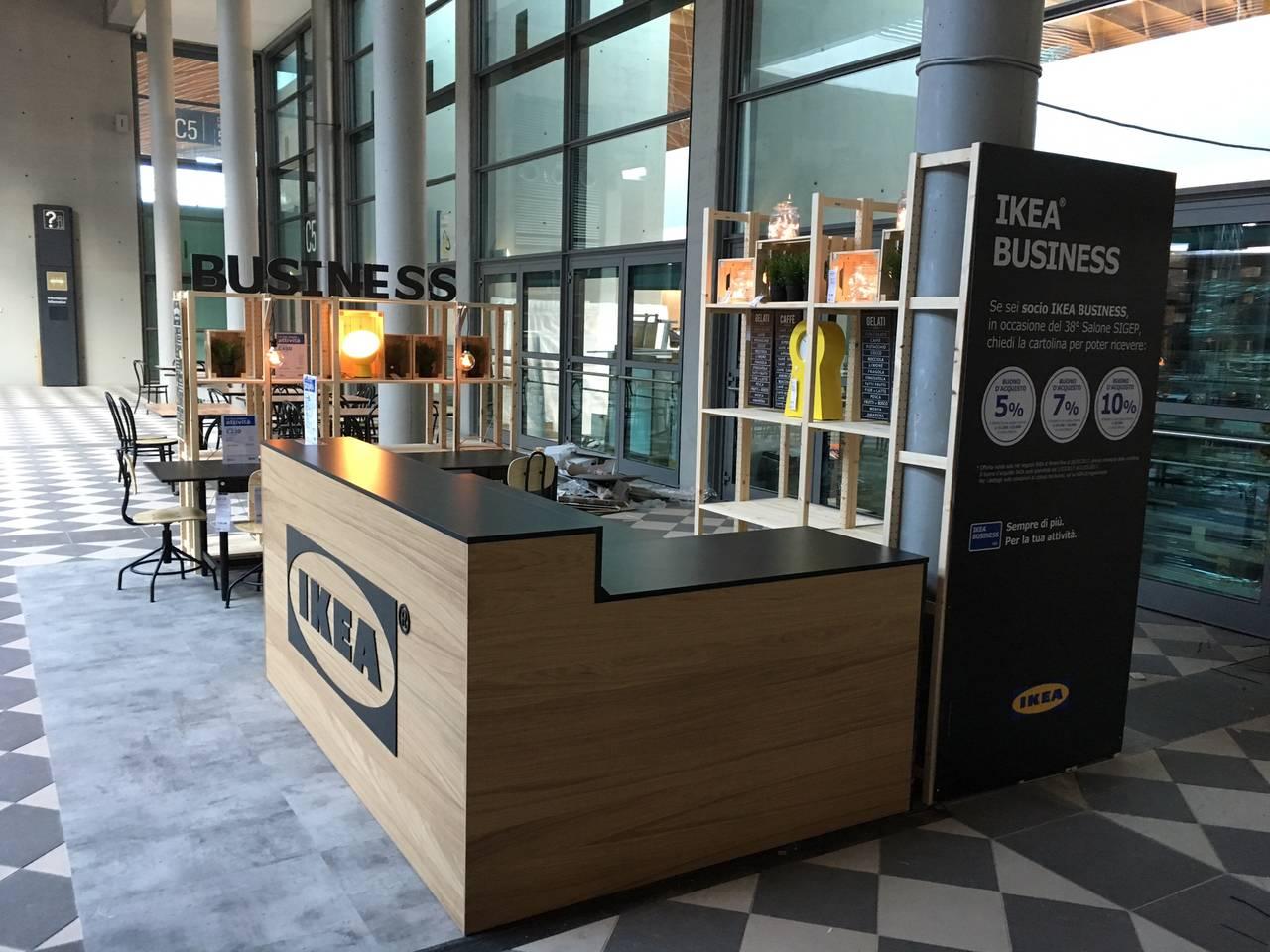 Ikea espone al sigep prodotti di arredo per attivit for Ikea orari rimini